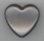 Kunststof hart antraciet 30 x 30 mm