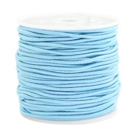 Gekleurd elastisch draad 1,5mm Arctic Blue