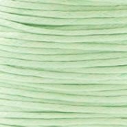 Waxkoord Crysolite Green 1,0 mm
