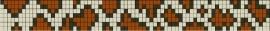 Tijgerpatroon + benodigde kralen en draad