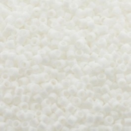 Miyuki Delica 11/0 DB-0351 White Matted