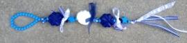 Kinderpakket blauw - wit