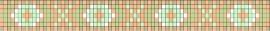 Egypte patroon + bijbehorende kralen en draad