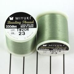 Miyuki Beading draad B (23) groen sea foam