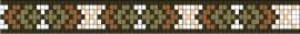 Arrow cross patroon + benodigde kralen en draad