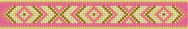 Indian Summer patroon + benodigde kralen en draad