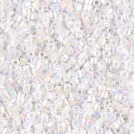 Miyuki Delica 11/0 DB-0202 White Pearl Ceylon AB