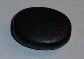 Houten kraal plat ovaal (30 mm)