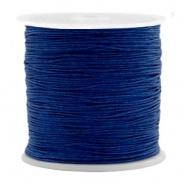 Macramé draad 0.5 mm Denim blue