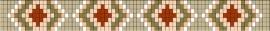 Square patroon + bijbehorende kralen en draad