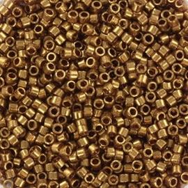 Miyuki Delica 11/0 DB-0115 Gold Luster Dark Topaz