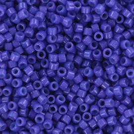 Miyuki Delica 11/0 DB-2359 Duracoat Opaque Dyed Indigo Blue