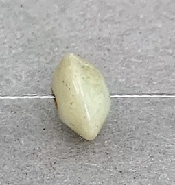 Glaskraaltje 5 x 10 mm lichtgroen