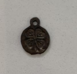 Muntje antiek koper 12 mm