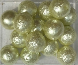 Glasparel frost lime groen 8 mm, per stuk