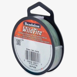Beadalon Wildfire groen 0,15 mm / 18,3 meter