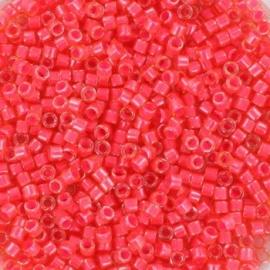 Miyuki Delica 11/0 DB-2051 Luminous Poppy Red