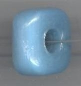 Spacer turquoise vierkant