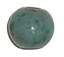 Keramiekkraal groen gemeleerd 12,5 mm