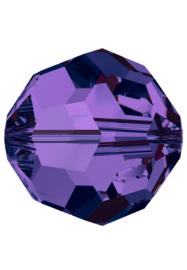 Kraal 5000 rond 4mm Purple Velvet (277)