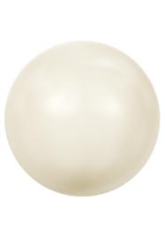 Kraal 5810 rond 6mm Crystal Ivory Pearl (001 708)