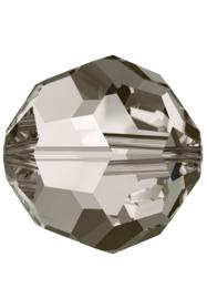 Kraal 5000 rond 6mm Crystal Satin (001)