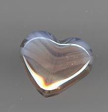 Murano kraal hartje 16 mm
