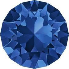 Swarovski plaksteen SS20 Capri Blue