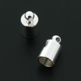 Eindkap 6 x 10 mm, per 2 stuks