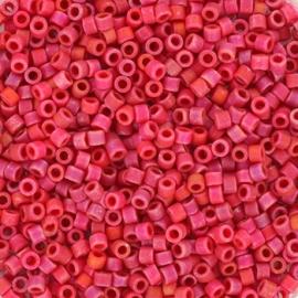 Miyuki Delica 11/0 DB-0362 Opaque Matte Luster Red