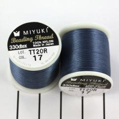 Miyuki Beading draad B (17) jeans blauw