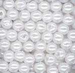 Acryl parelkraaltjes wit 3 mm, per zakje van ca. 3 gram