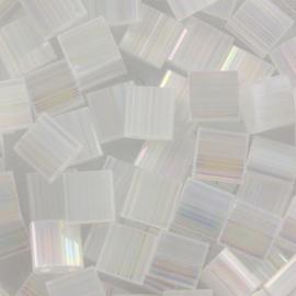 Miyuki Tila 5 x 5 mm Kralen - Silk satin crystal ab 2549