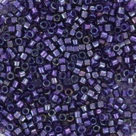 Miyuki Delica 11/0 DB-1756 Sparkling Purple Lined Amethyst AB