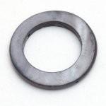 Schelpring grijs / antraciet 30 mm