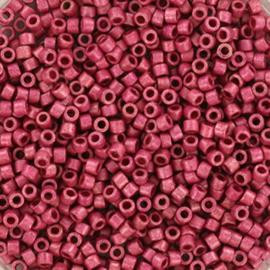 Miyuki Delica 11/0 DB-1840F Duracoat Galvanized Matte Hot Pink