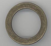 Ring bronskleur 42 mm