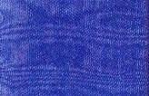 Organza lint 7 mm kobalt blauw