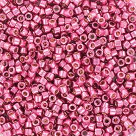 Miyuki Delica 11/0 DB-1840 Duracoat Galvanized Hot Pink