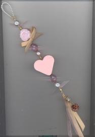 Zeepketting roze