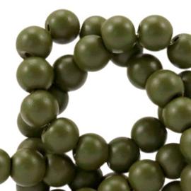 Glaskraal 6 mm half mat Army Green