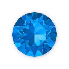 Swarovski plaksteen SS20 Sapphire