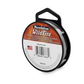 Beadalon Wildfire grijs 0,15 mm / 18,3 meter