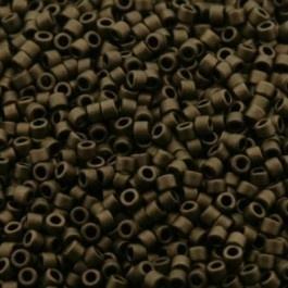 Miyuki Delica 11/0 DB-0322 Mat Metallic Dark Bonze