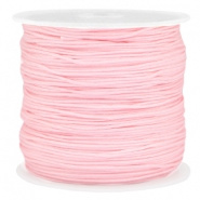 Macramé satijndraad 0.8mm Light pink