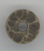 Ring bronskleur 30 mm
