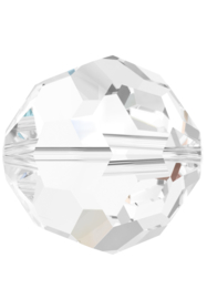 Kraal 5000 rond 6mm Crystal (001)