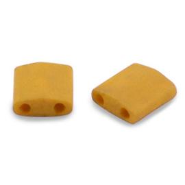 Miyuki Tila 5 x 5 mm Kralen - 2312 Opaque Matte Mustard