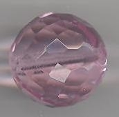 Facetkraal roze 15 mm