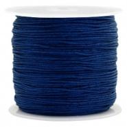 Macramédraad sodalite blue 0,8 mm